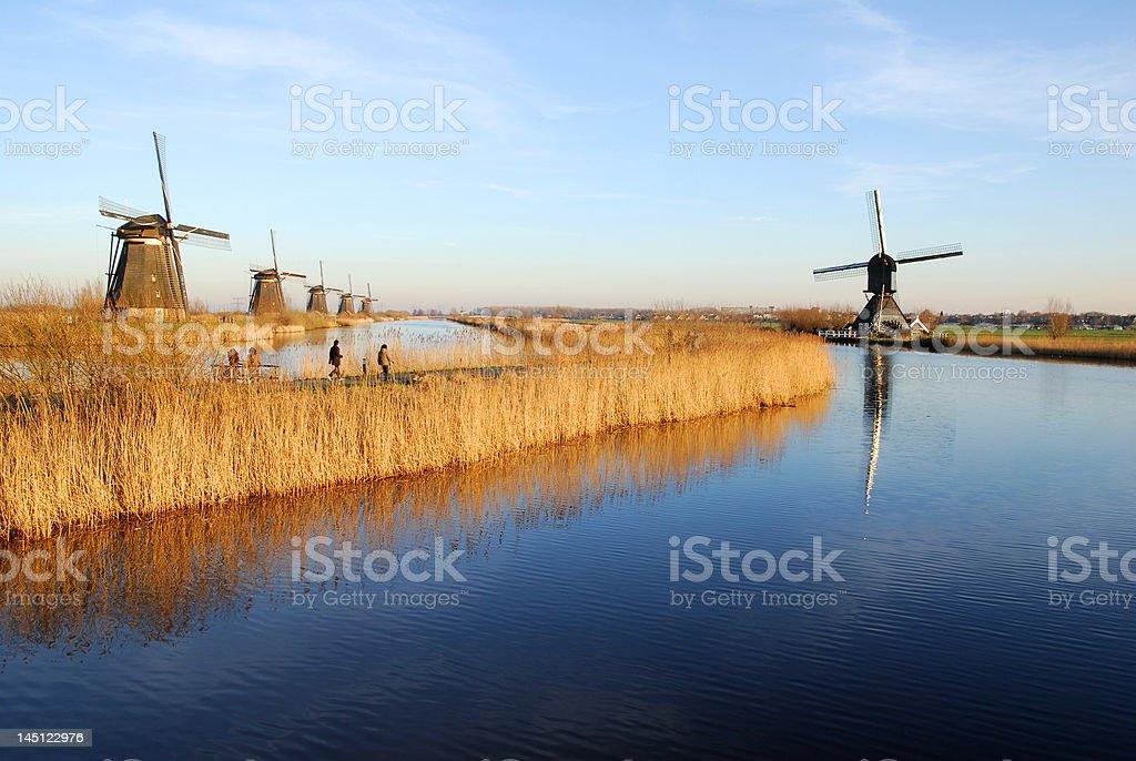 Dutch scenic royalty-free stock photo