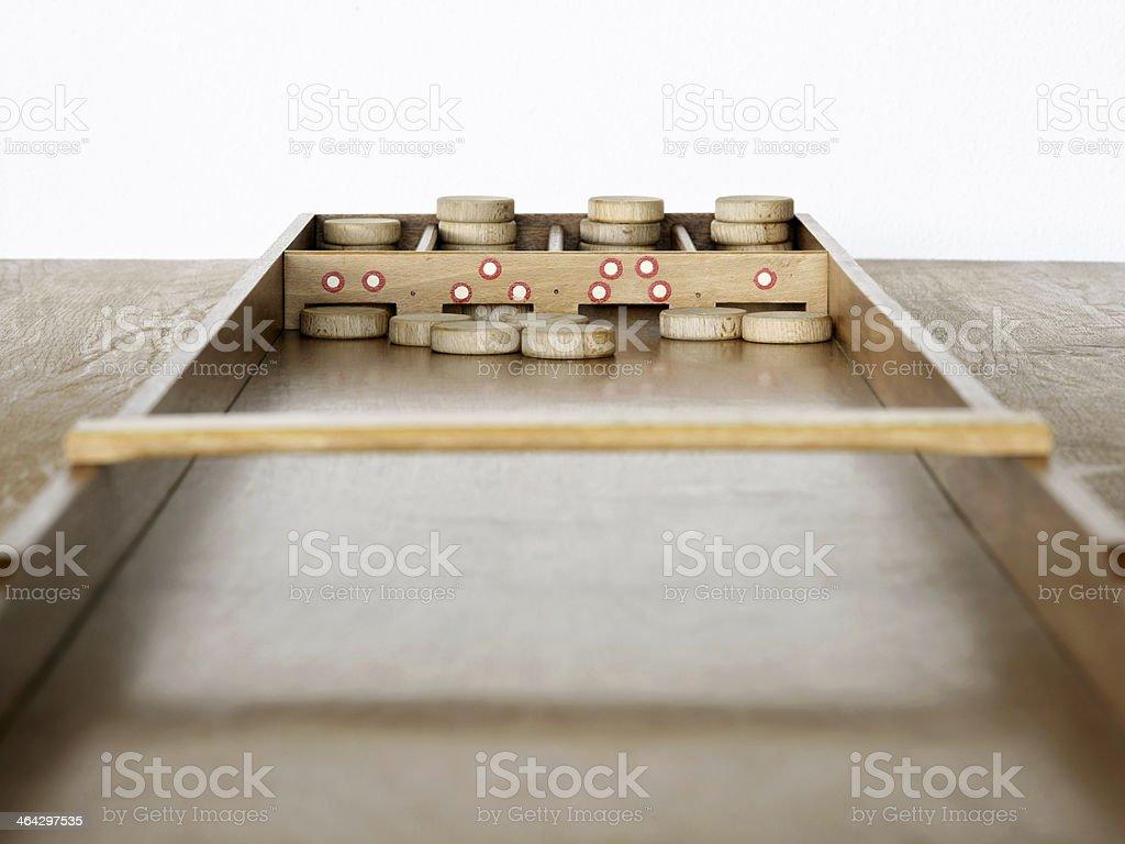 Dutch shuffleboard royalty-free stock photo