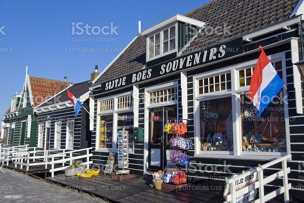 Dutch Souvenir Shop stock photo