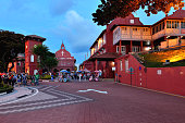 Dutch Square and Red House in Malacca