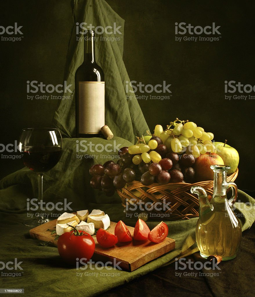Dutch still-life stock photo