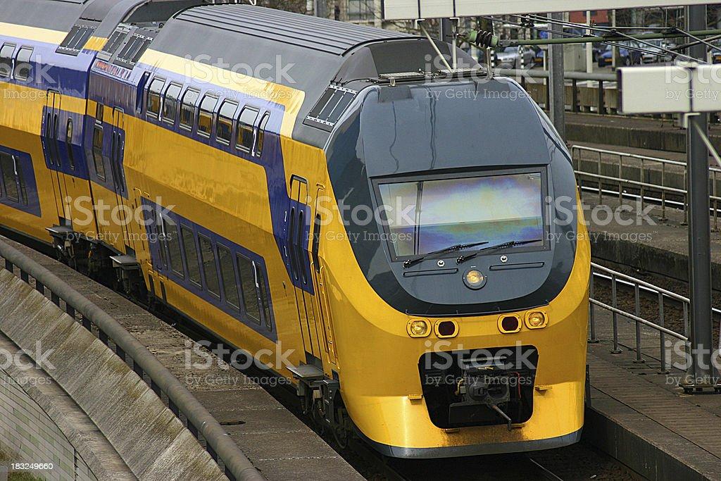 Dutch Train stock photo