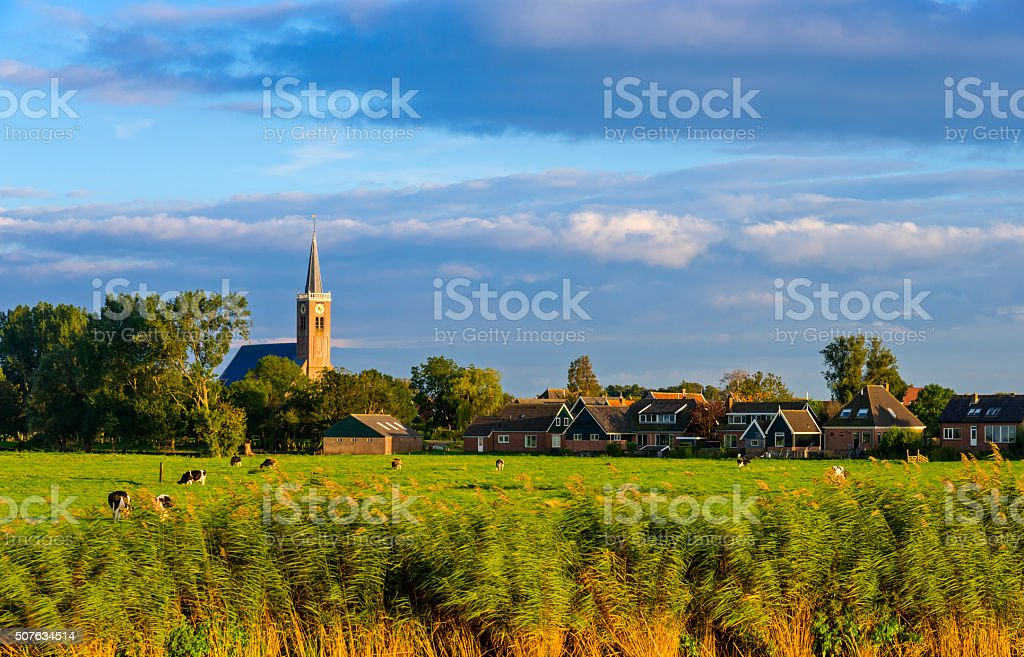 Dutch Village stock photo