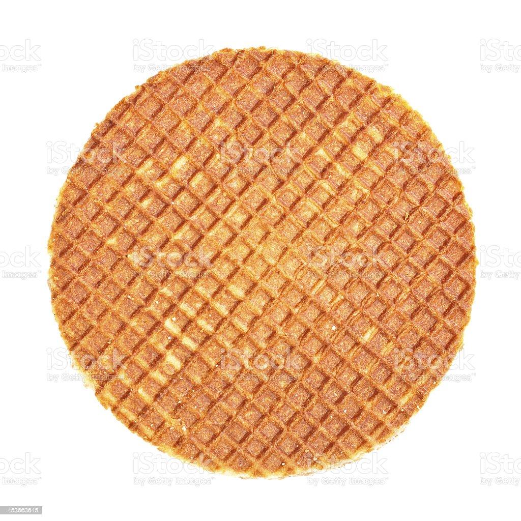 Dutch Waffle royalty-free stock photo