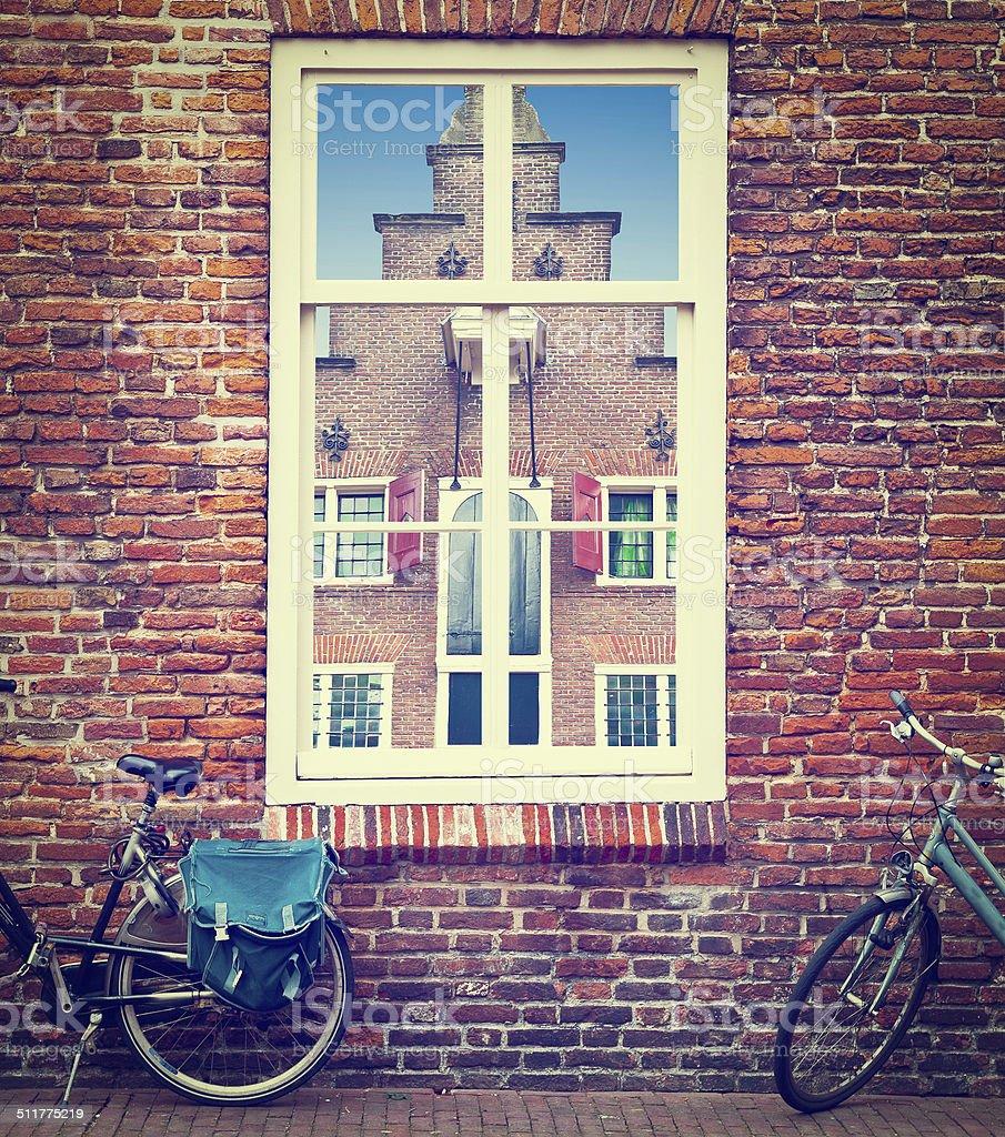 Dutch Window stock photo