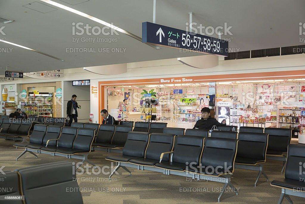 Duty Free Shop in Fukuoka Airport, Japan royalty-free stock photo