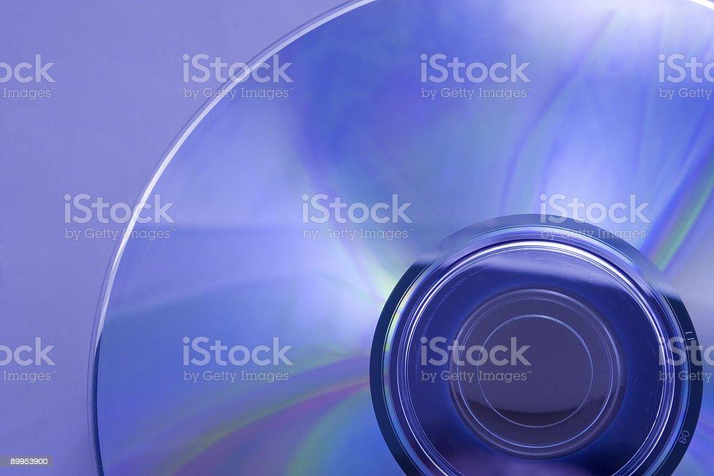 dvd blue royalty-free stock photo