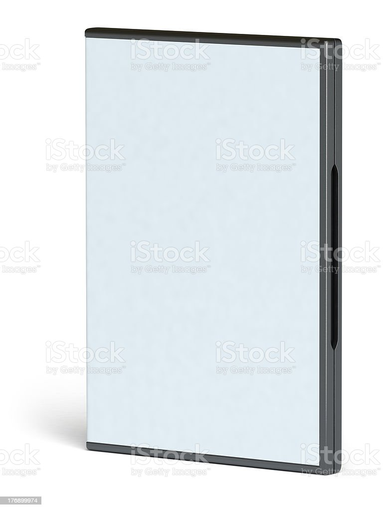 dvd case royalty-free stock photo