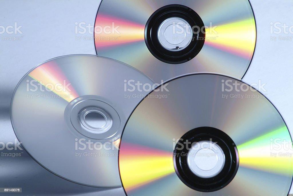 Dvd discs royalty-free stock photo