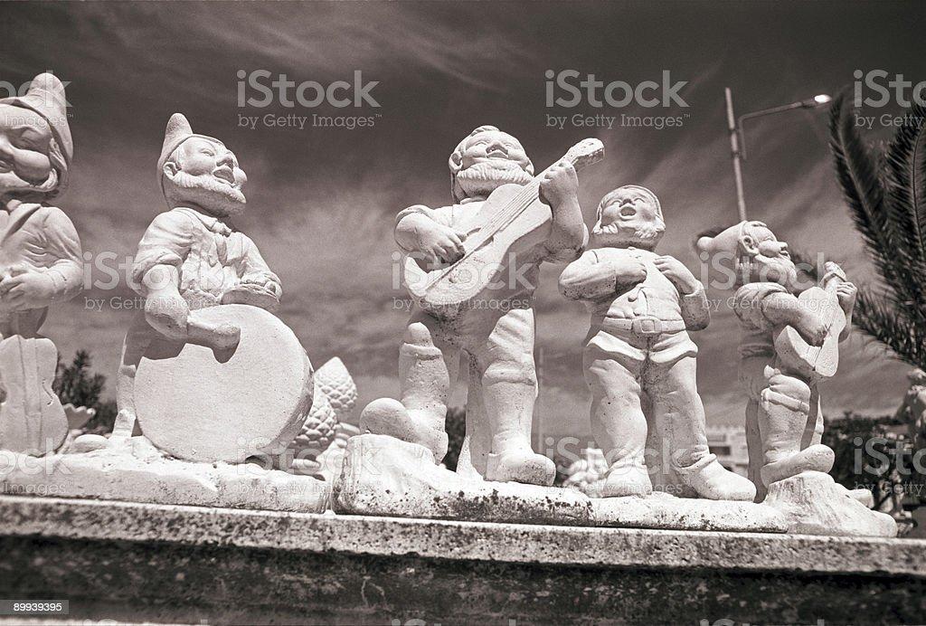 dwarfs stock photo