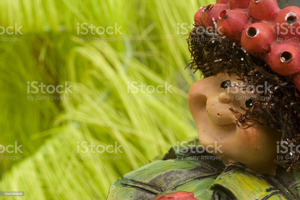 dwarft puppet stock photo