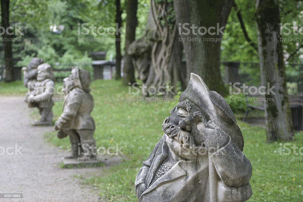 Dwarves stock photo
