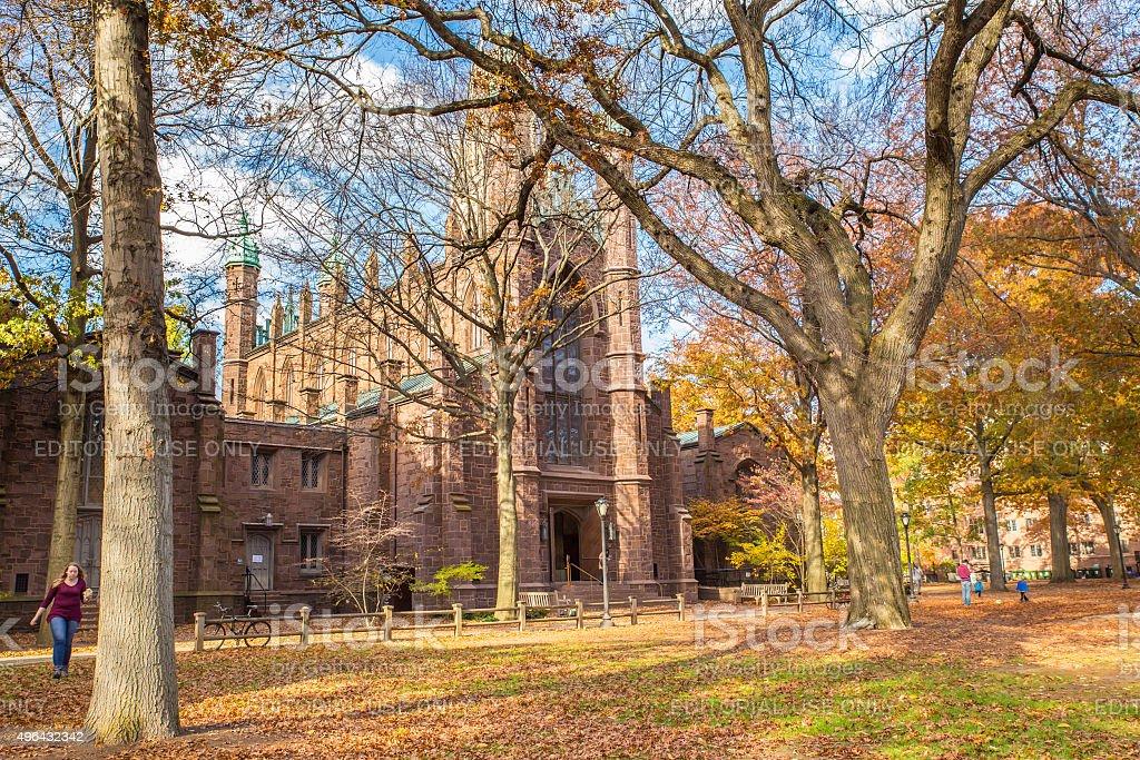 Dwight Hall Yale University stock photo
