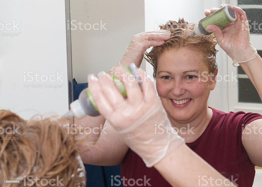 Dye Job 1 royalty-free stock photo