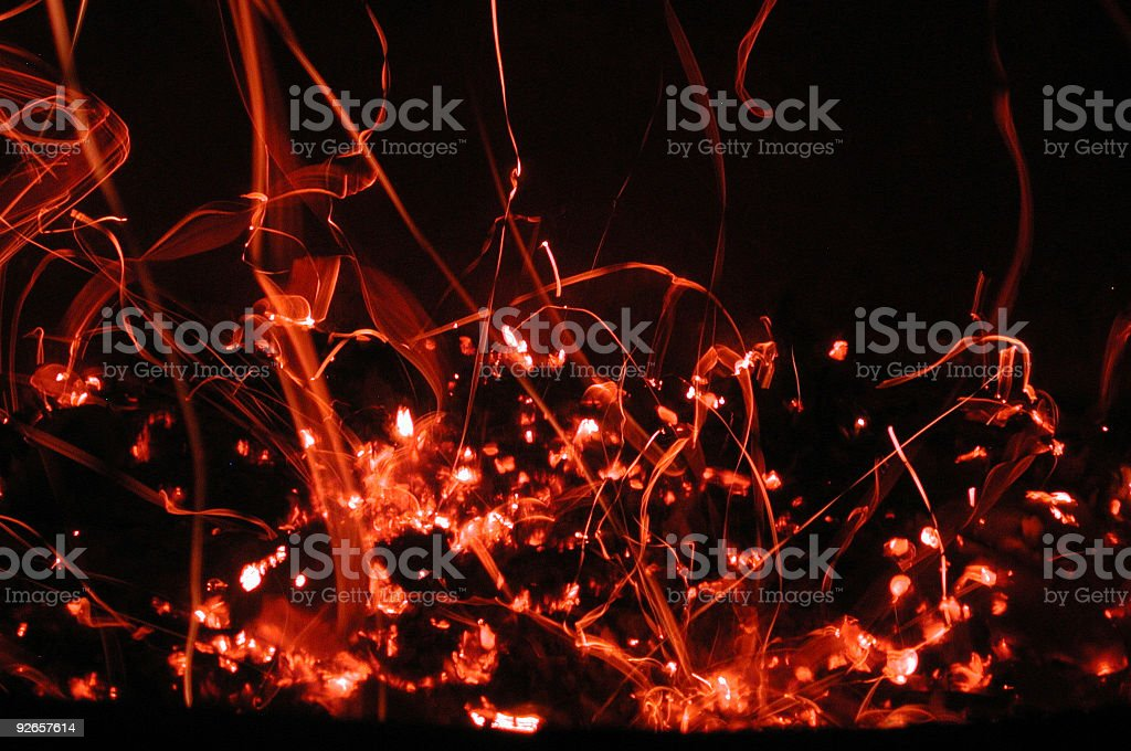 dying embers 2 royalty-free stock photo