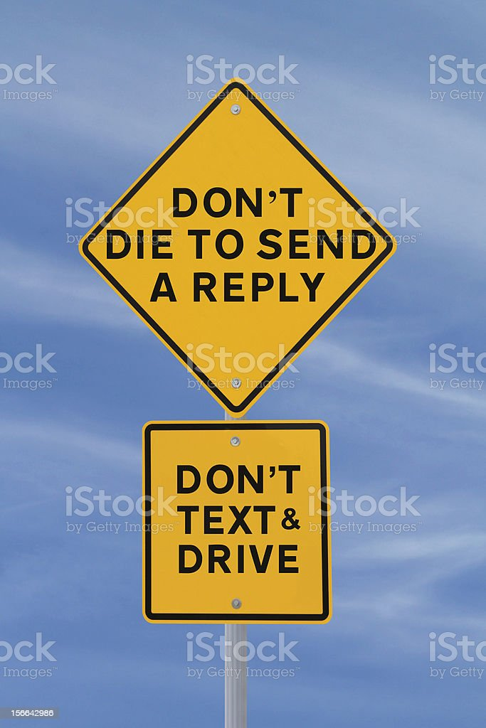 Dying To Send A Reply? stock photo