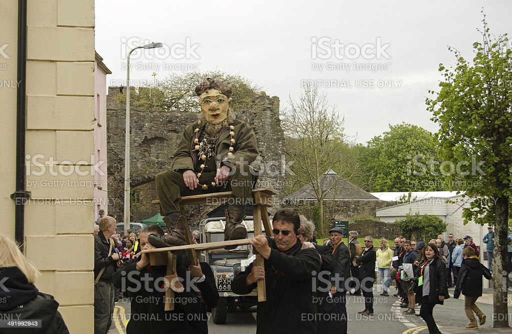 Dylan Thomas Celebrations royalty-free stock photo