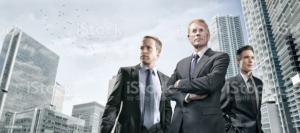 Dynamic Business Team royalty-free stock photo
