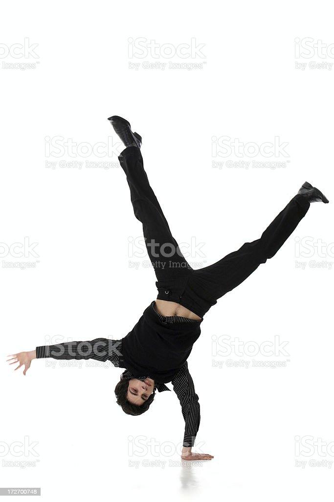 Dynamic Businessman royalty-free stock photo