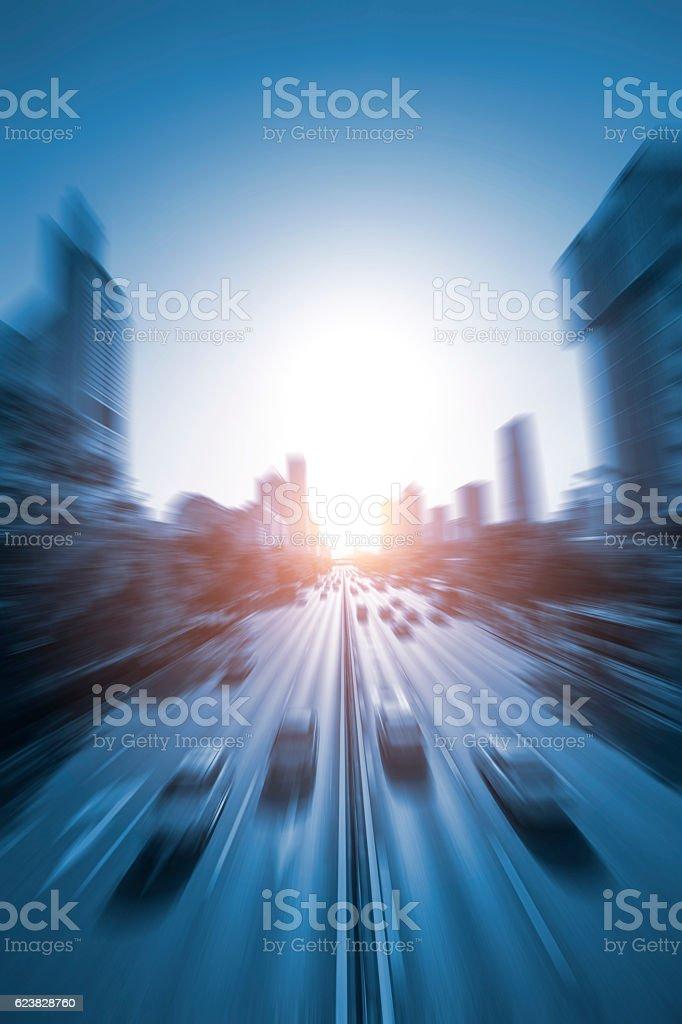 Dynamic City stock photo
