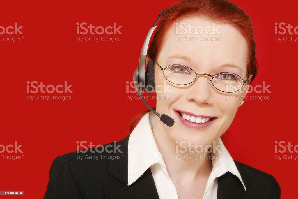 Dynamic Customer Support royalty-free stock photo