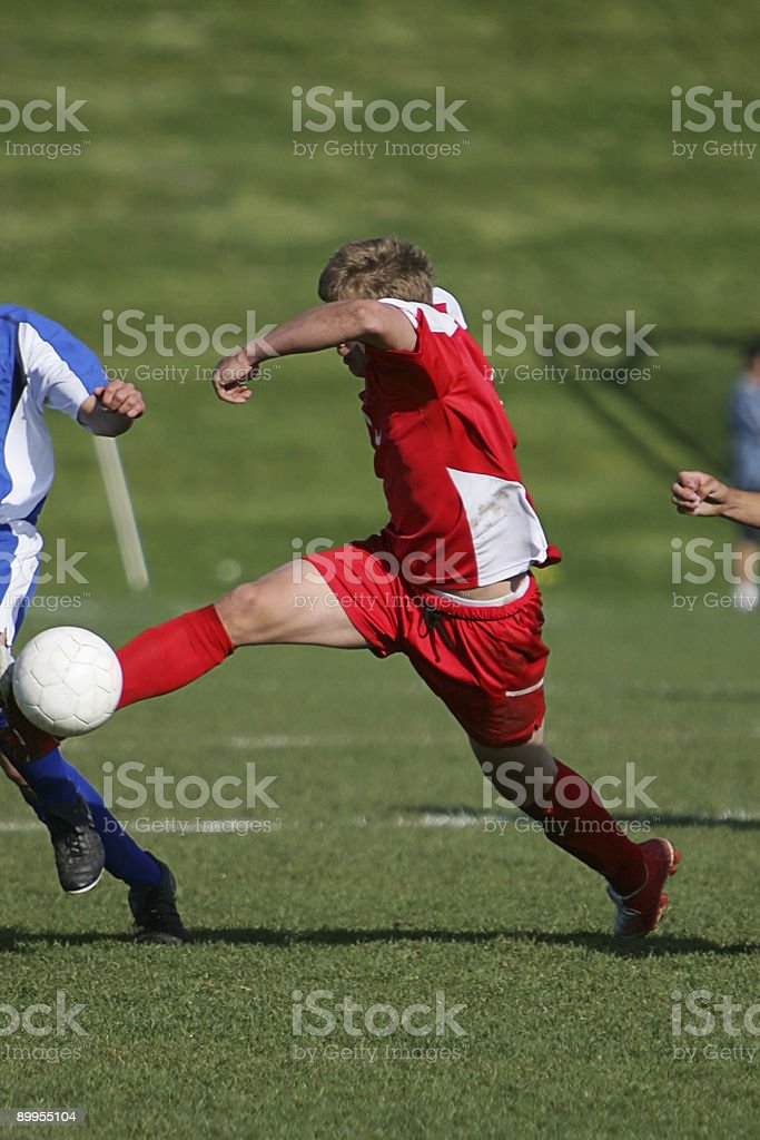 Dynamic Dribble 1 royalty-free stock photo