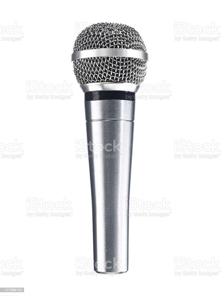 Dynamic mic royalty-free stock photo