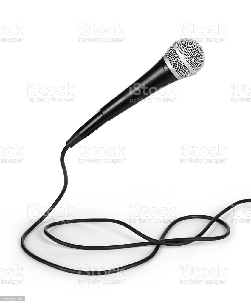 dynamic mic with stock photo