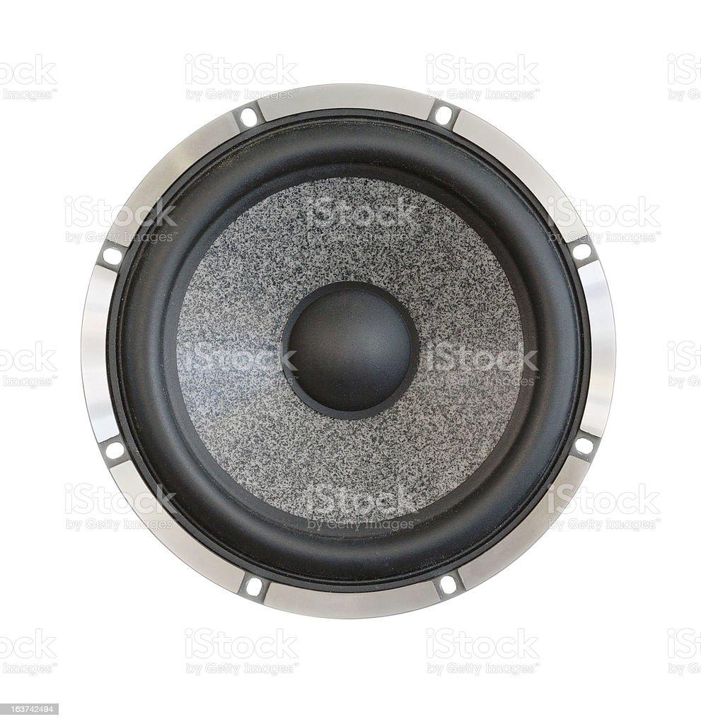 dynamic speaker royalty-free stock photo