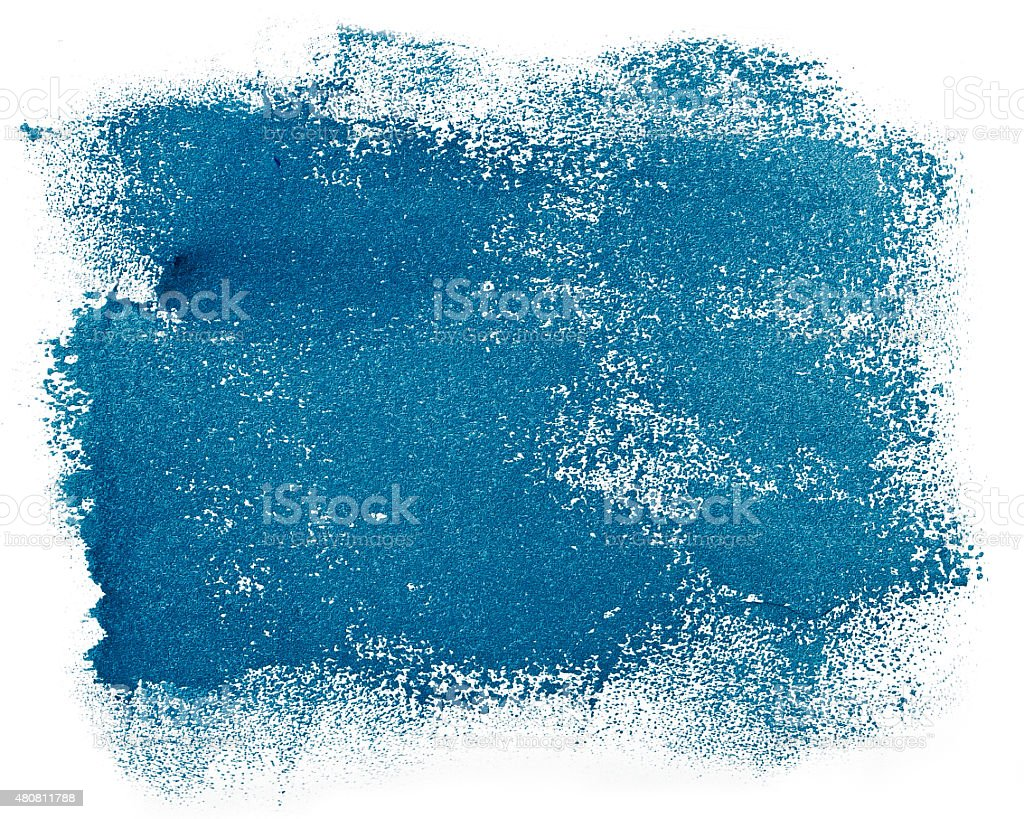 Dynamic splash of paint stock photo