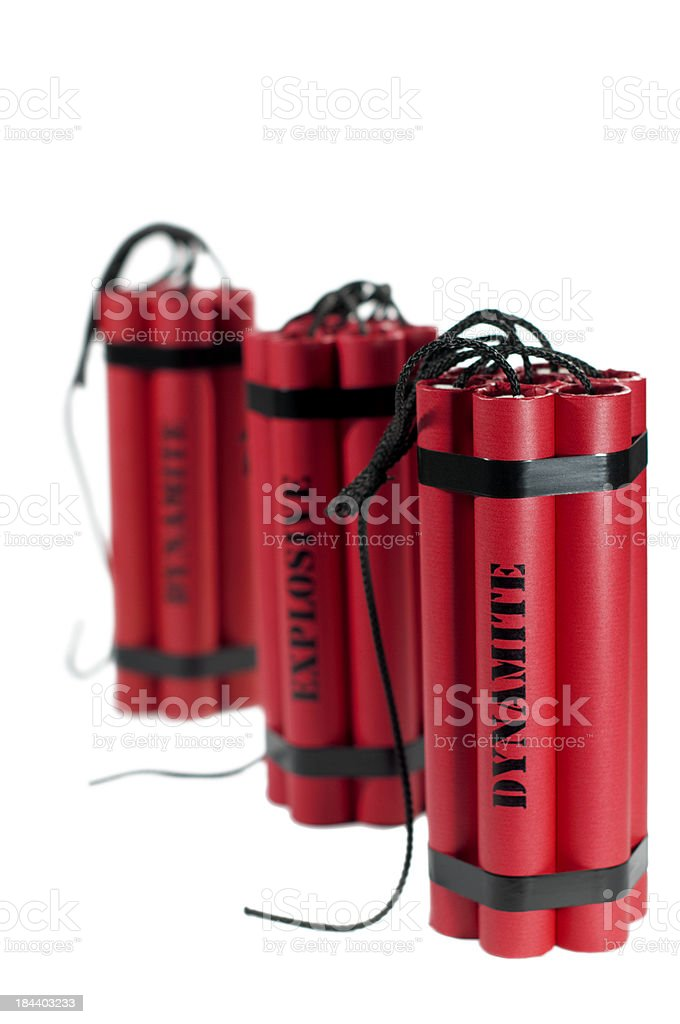dynamite bundles stock photo