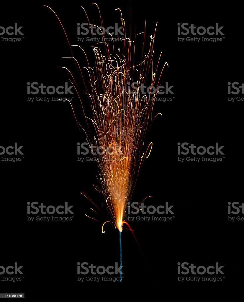 Dynamite Fuse stock photo