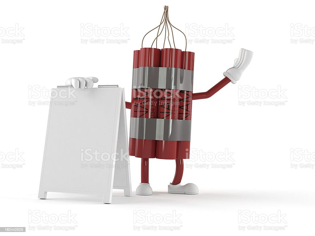 Dynamite royalty-free stock photo