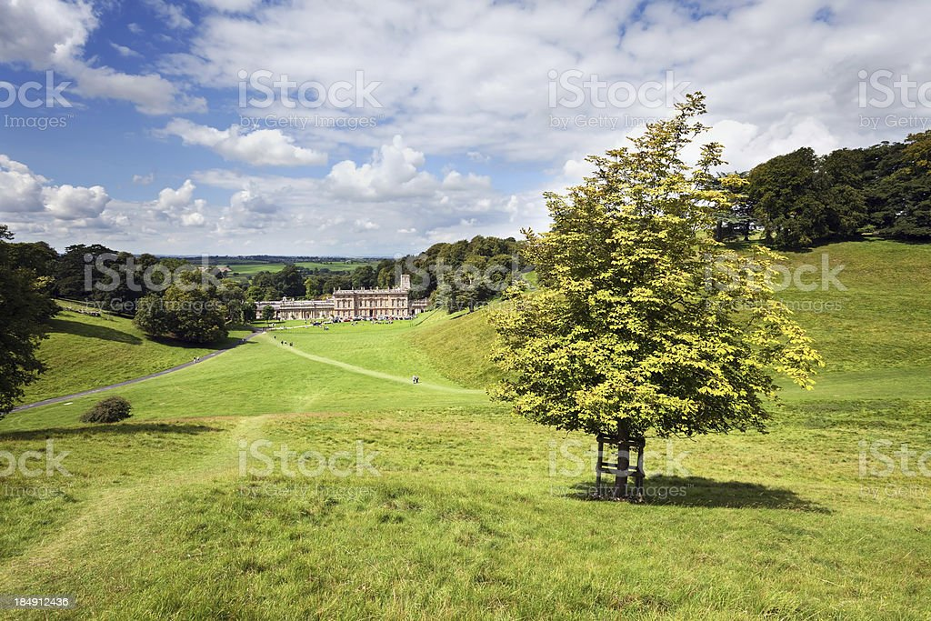 Dyrham Park in the Cotswolds, England royalty-free stock photo