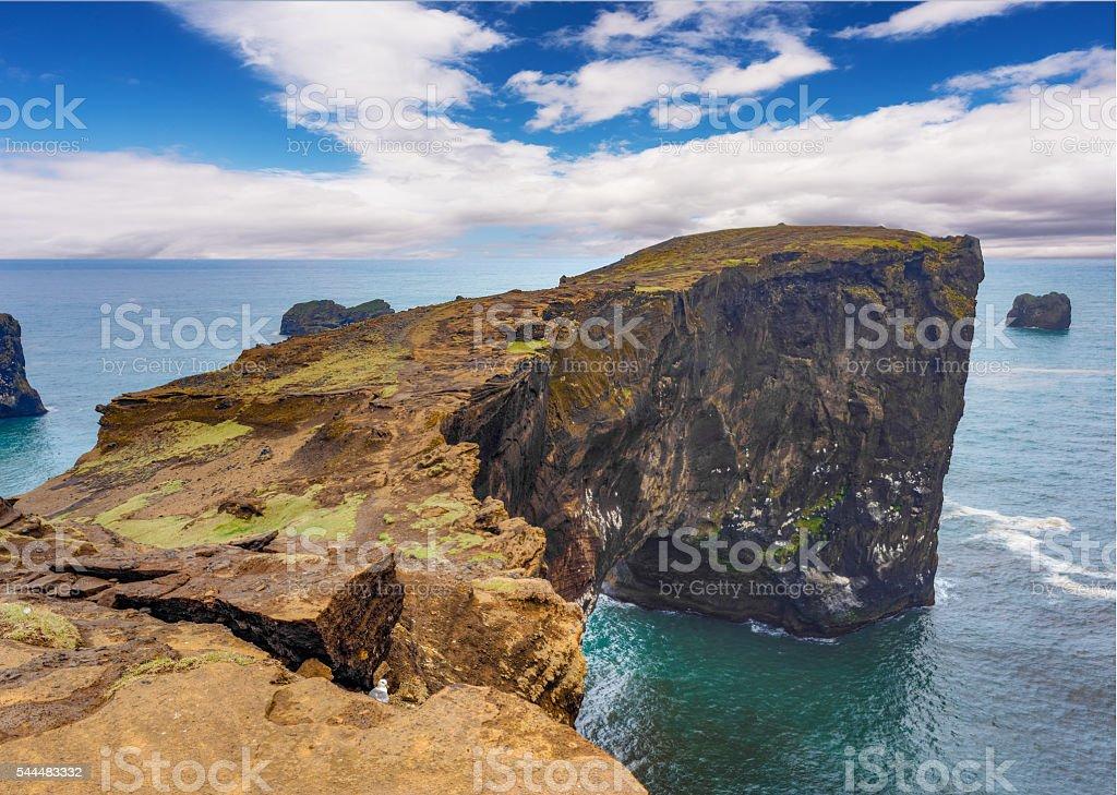 Dyrholaey promontory, Southern Iceland stock photo
