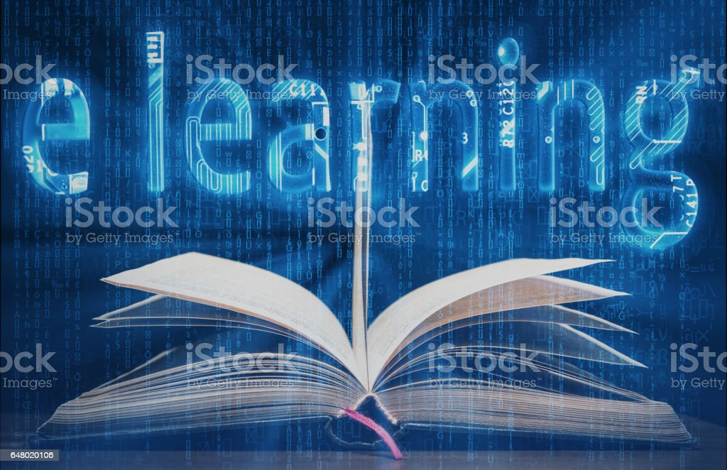 e learning Digital Background high quality and high resolution...