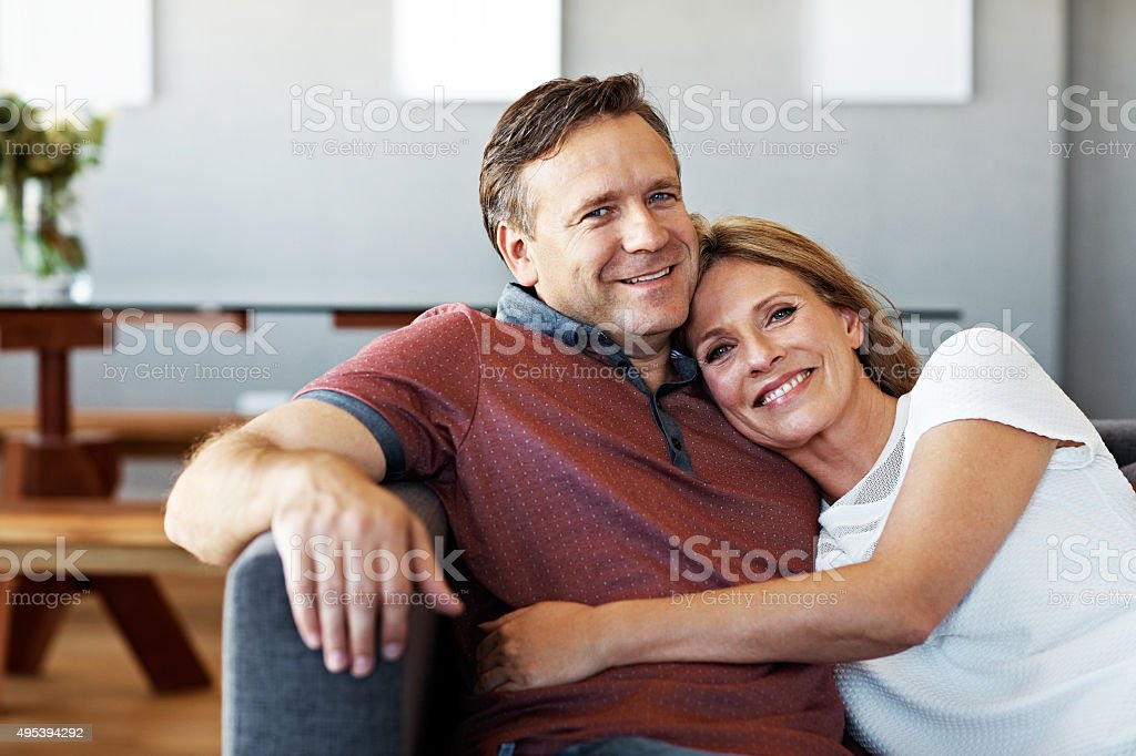 Each other's forever and always stock photo