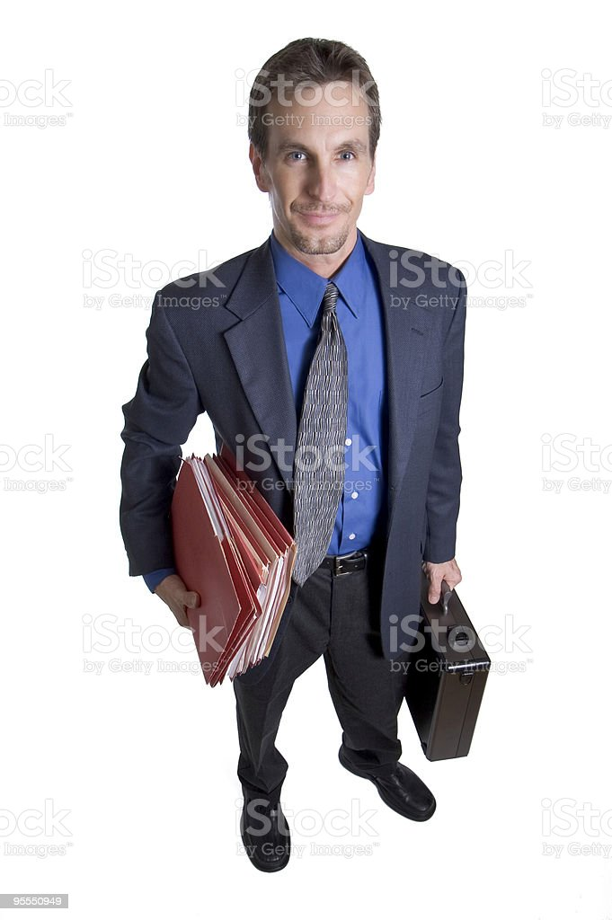 Eager for work royalty-free stock photo