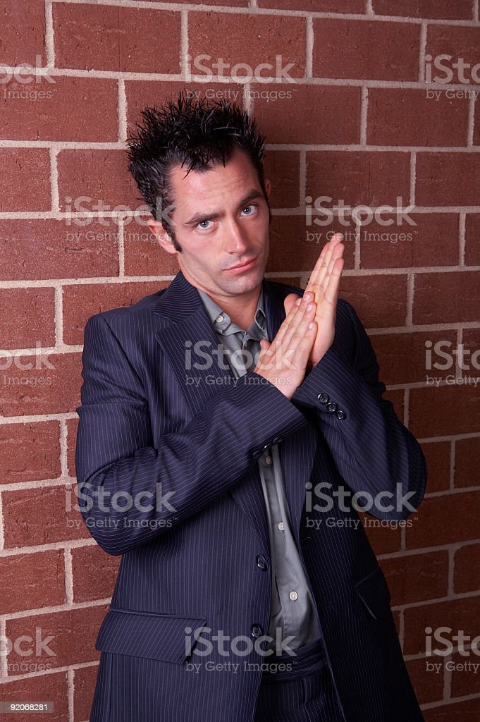 Eager stock photo