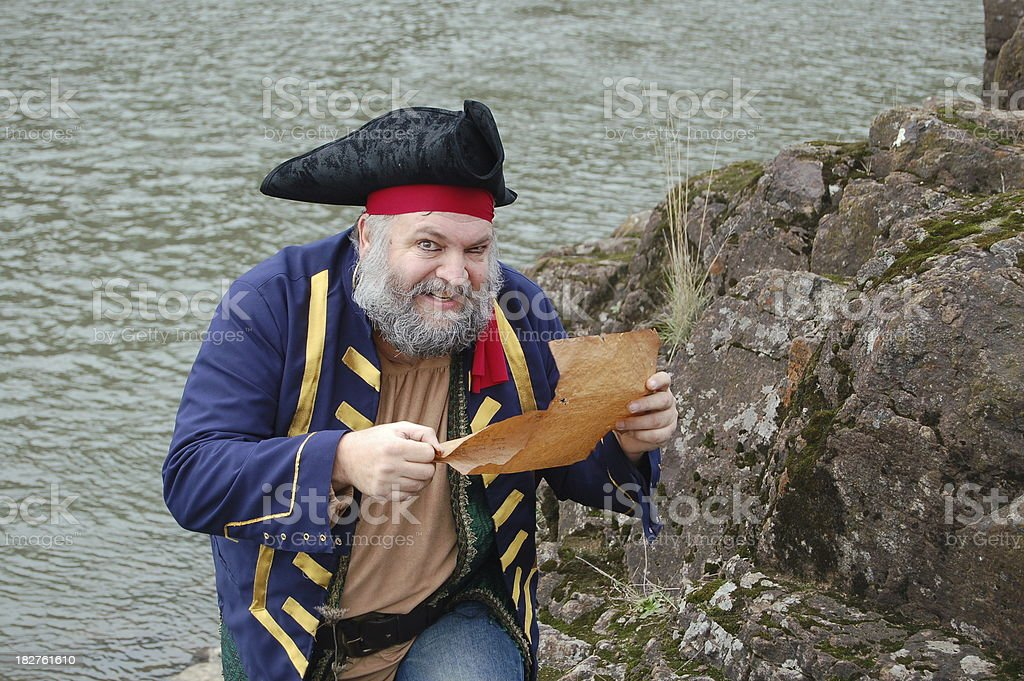 Eager Pirate stock photo