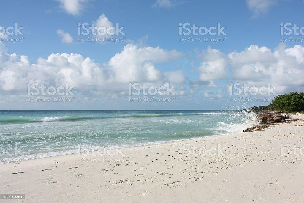 Eagle Beach stock photo