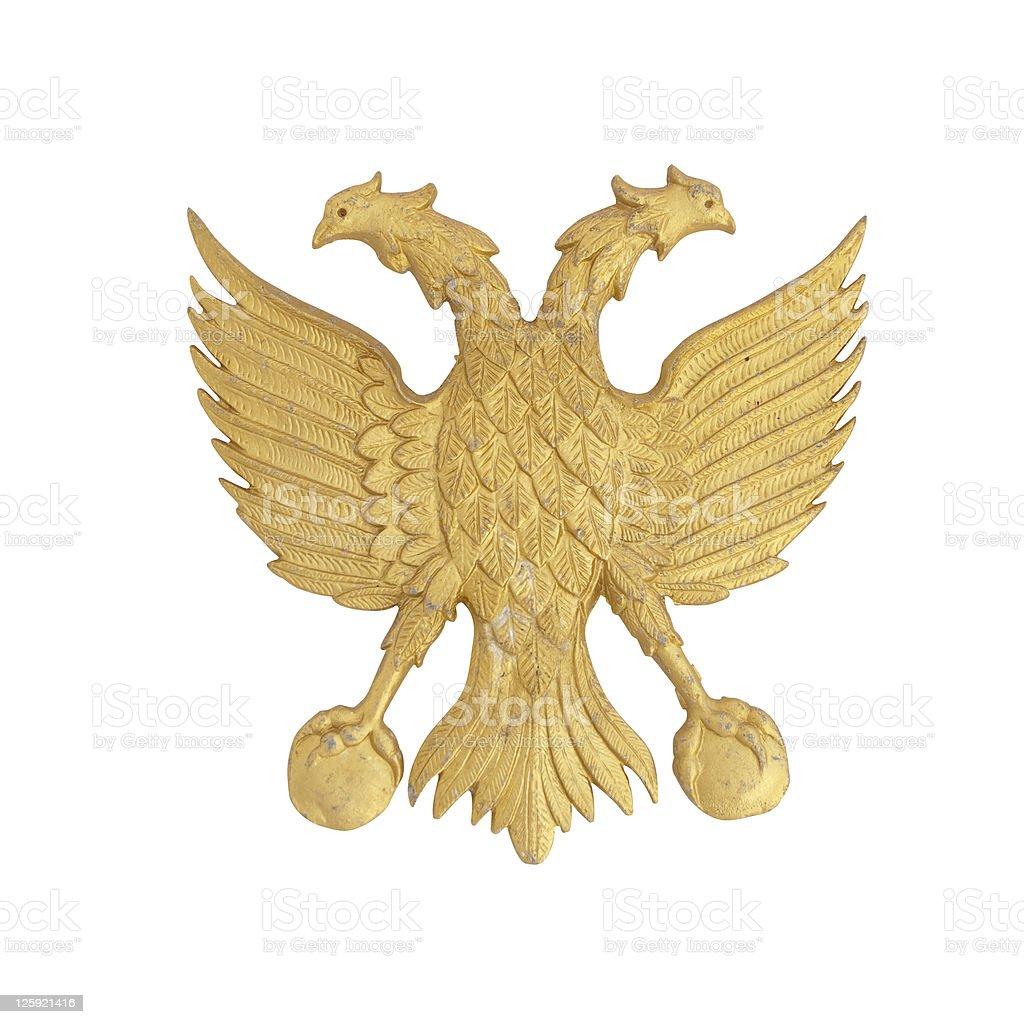Eagle Coat Of Arms stock photo