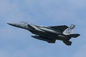 USAF F-15 Eagle during the Frisian Flag exercise
