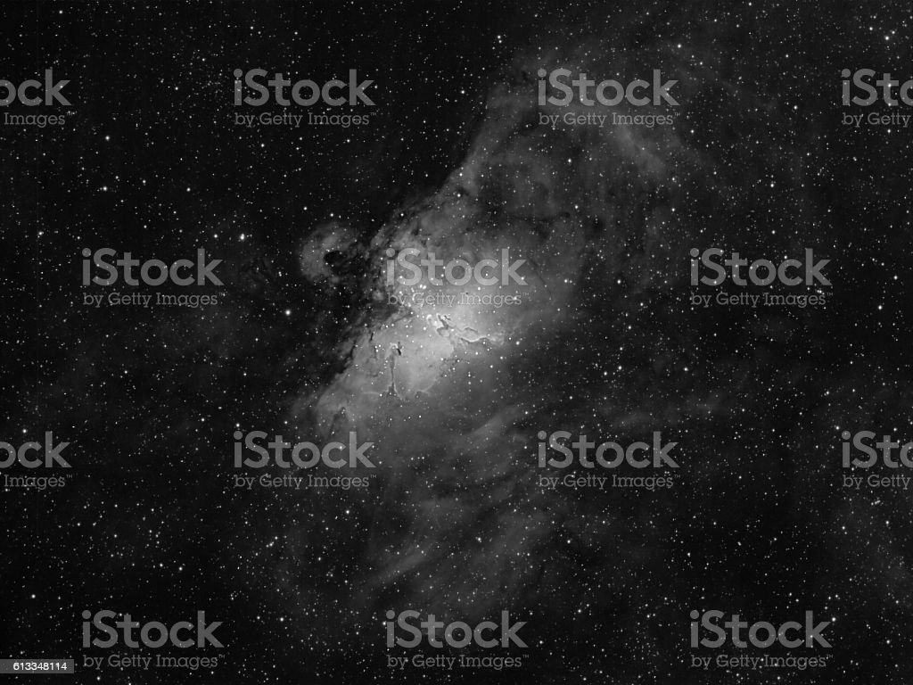 Eagle Nebula M16 stock photo