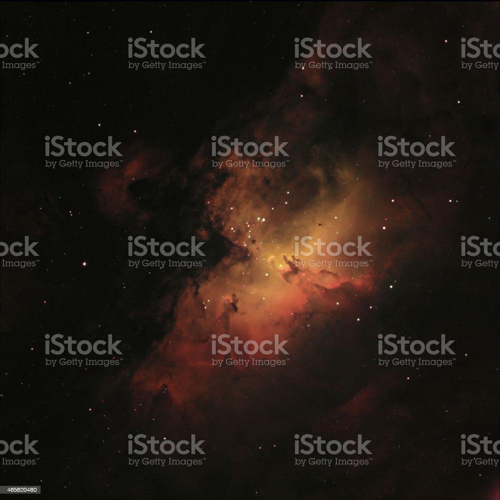 Eagle Nebula stock photo