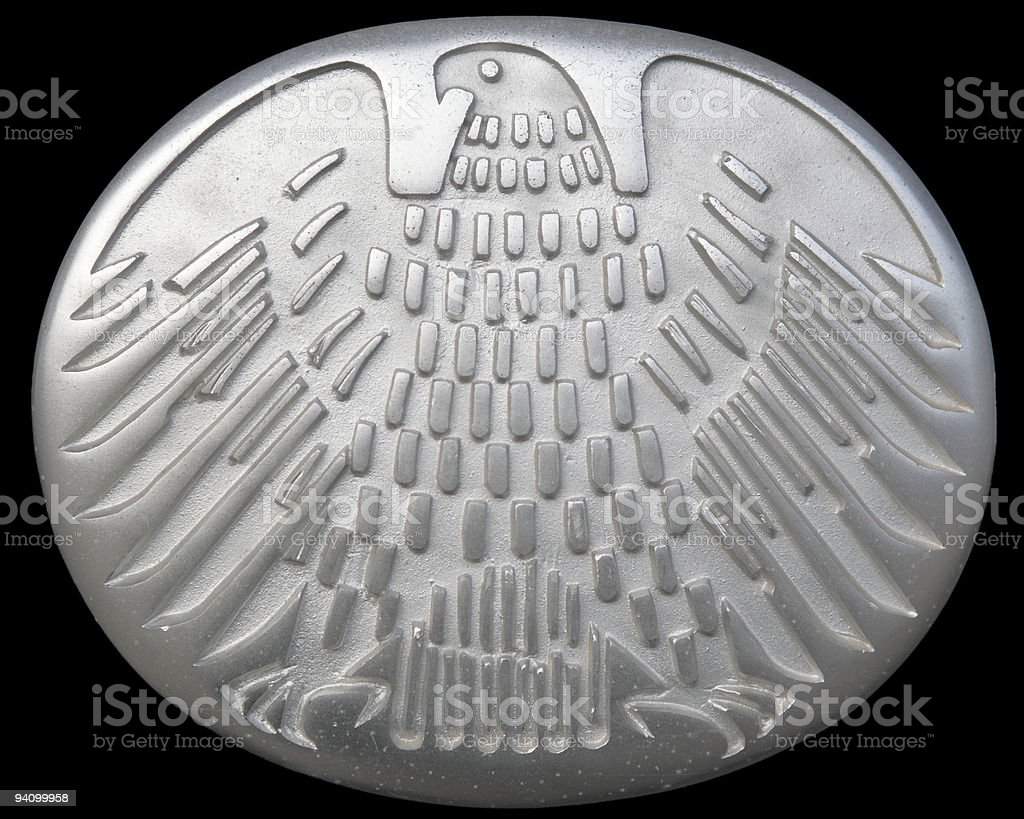 eagle of the Federal Republic Germany stock photo
