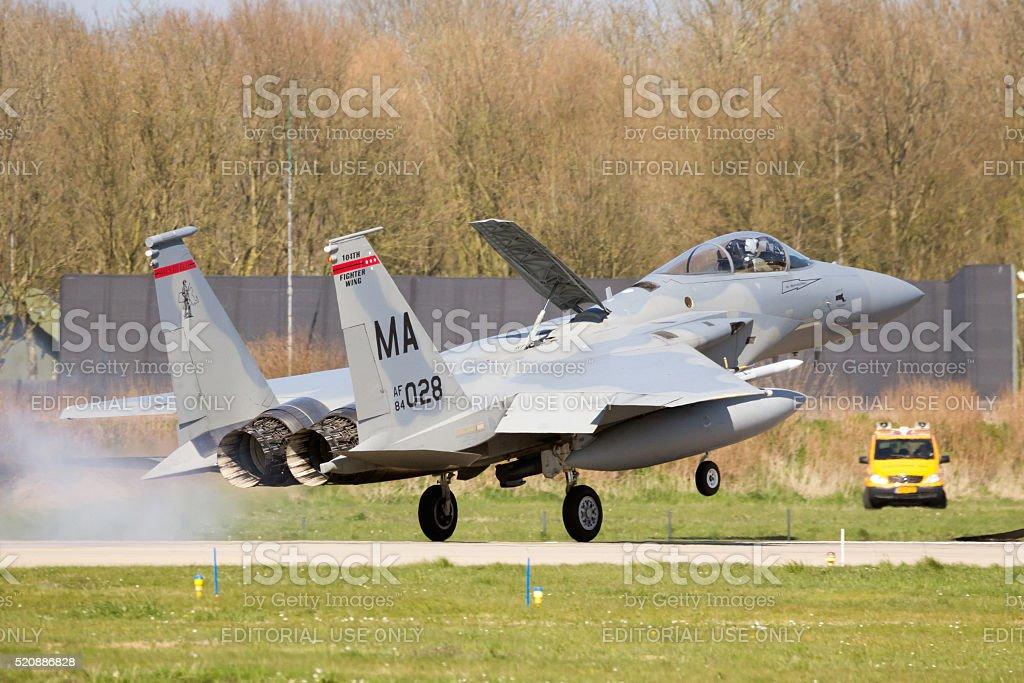 F-15 Eagle stock photo