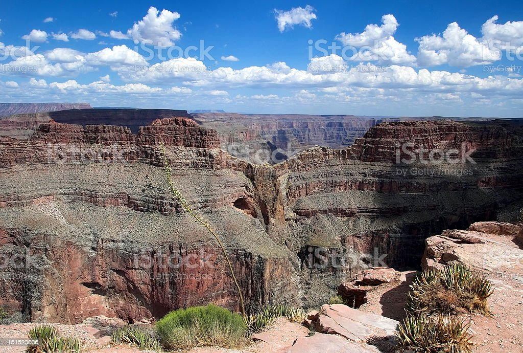 Eagle Point, Grand Canyon stock photo