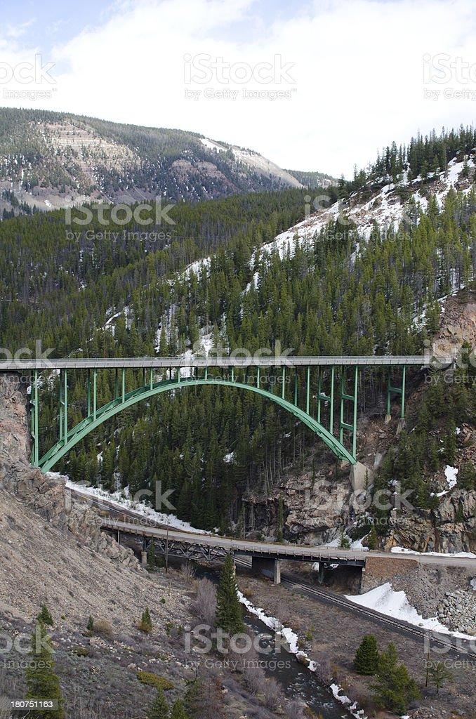 Eagle River Bridge royalty-free stock photo