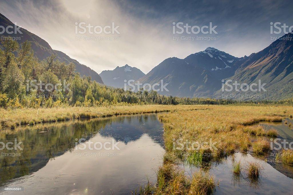 Eagle River Nature Center stock photo